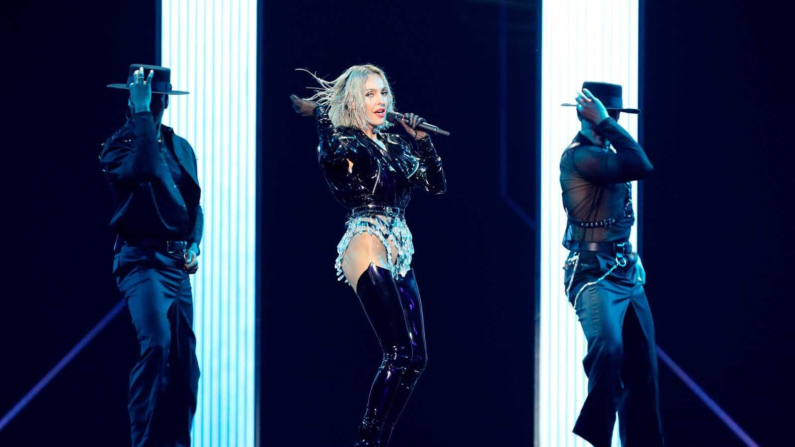 Eurovisión 2019 - Minuto de Chipre en el ensayo general de la primera semifinal
