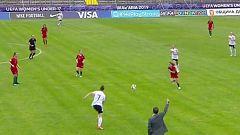 Fútbol - Campeonato de Europa sub17 Femenino 1ª Semifinal: Alemania-Portugal