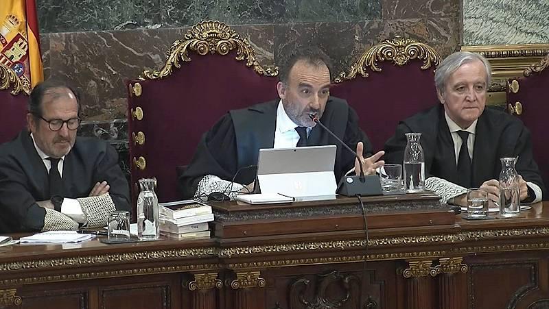 """Tensa sesión en el juicio del 'procés': el Supremo ve """"intolerable"""" el comporamiento de los testigos de Cuixart"""
