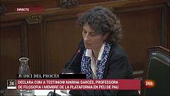 Marchena esbronca la testimoni Marina Garcés