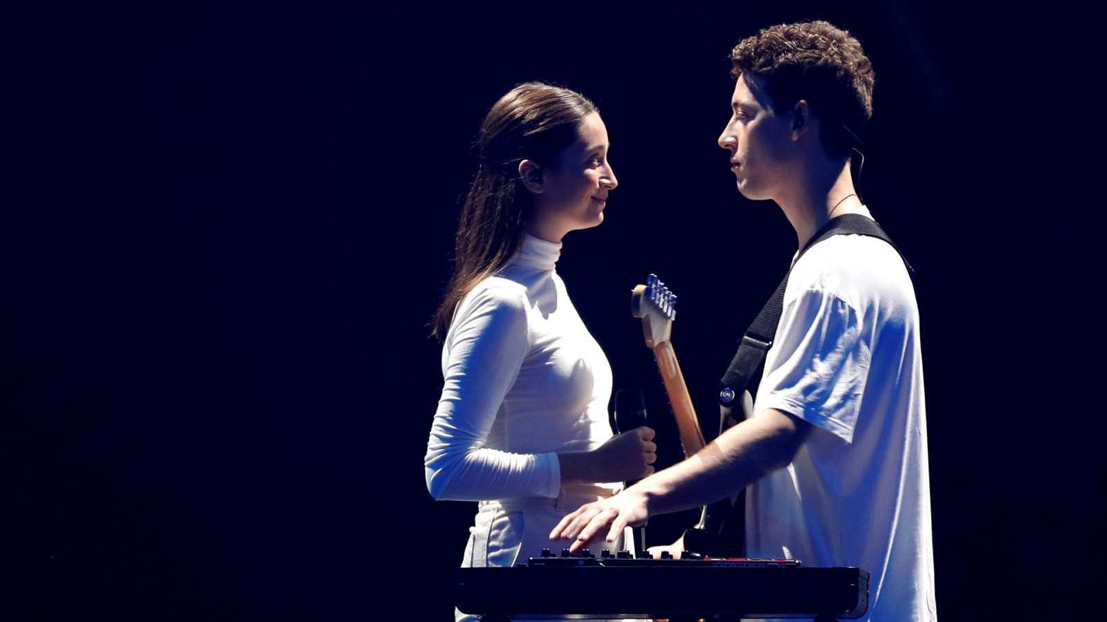 """Eurovisión 2019 - Eslovenia: Zala Kralj & Gasper Santl canta """"Sebi"""" en la primera semifinal"""