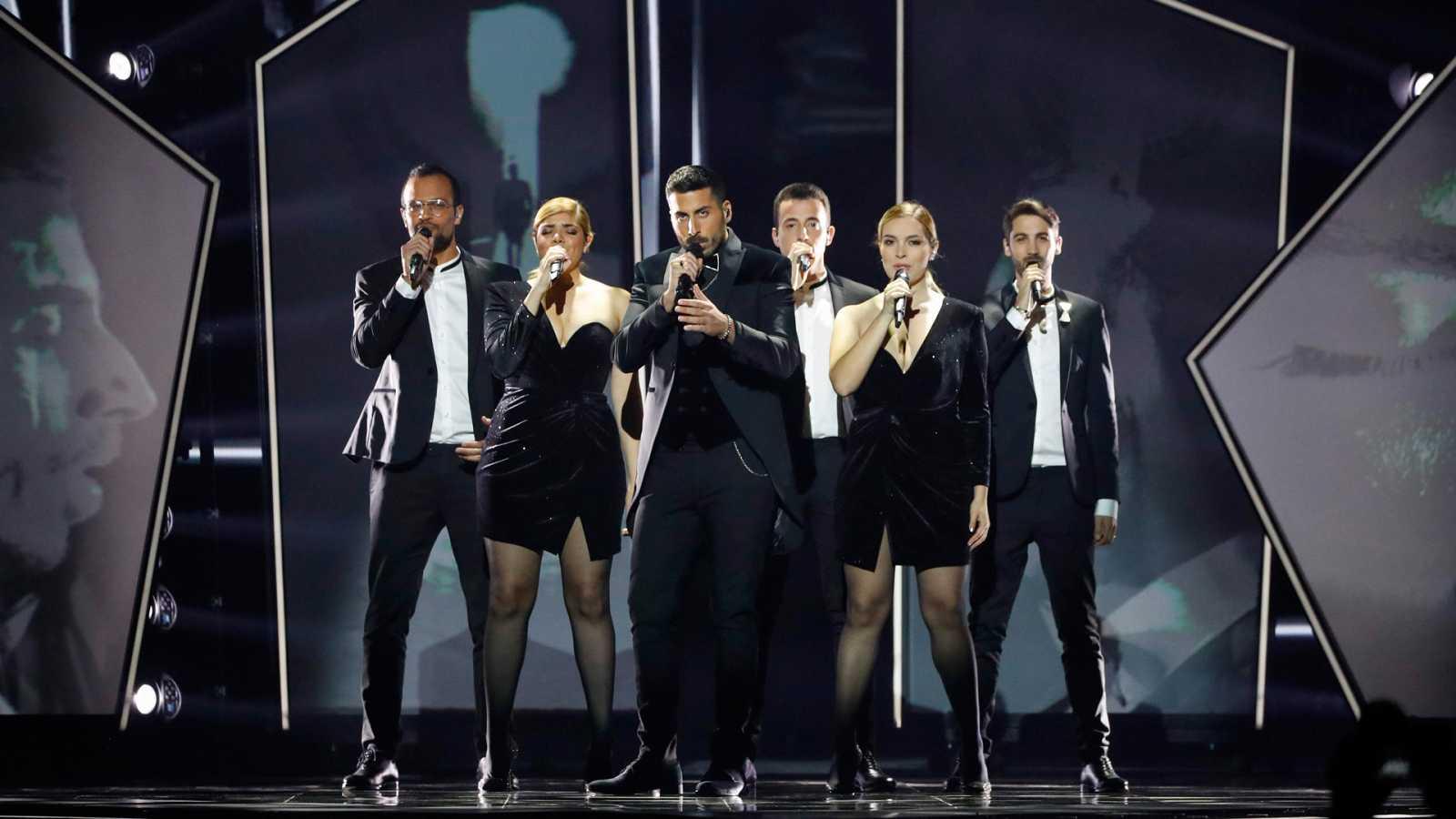 """Eurovisión 2019 - Minuto de Israel: Kobi Marimi canta """"Roi"""" en la primera semifinal"""