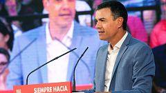 """Sánchez carga contra los independentistas: """"No vetan a Iceta, sino a la convivencia y a la concordia"""""""