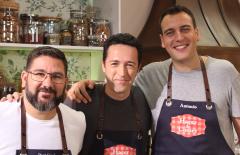 """El presentador Jacob Petrus visita """"Hacer de comer"""""""