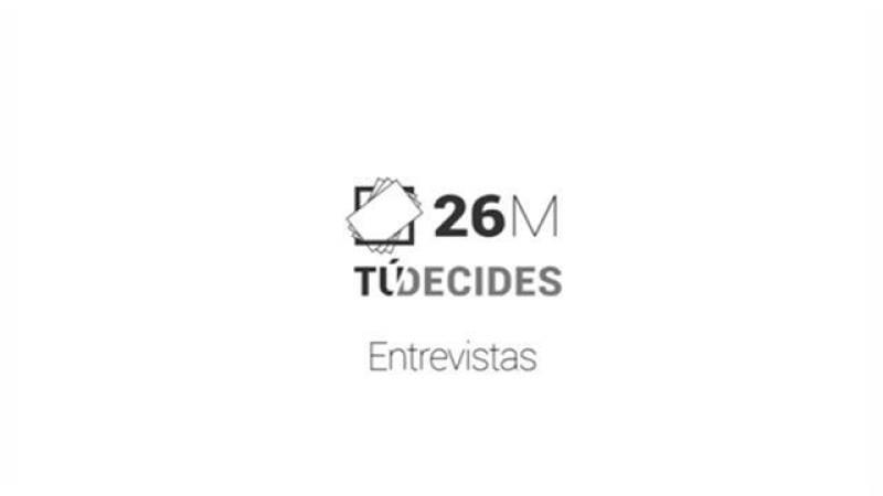 Entrevistas Elecciones 26M - María Dolores Corujo, Concepción Monzón, Claudio Gutiérrez.