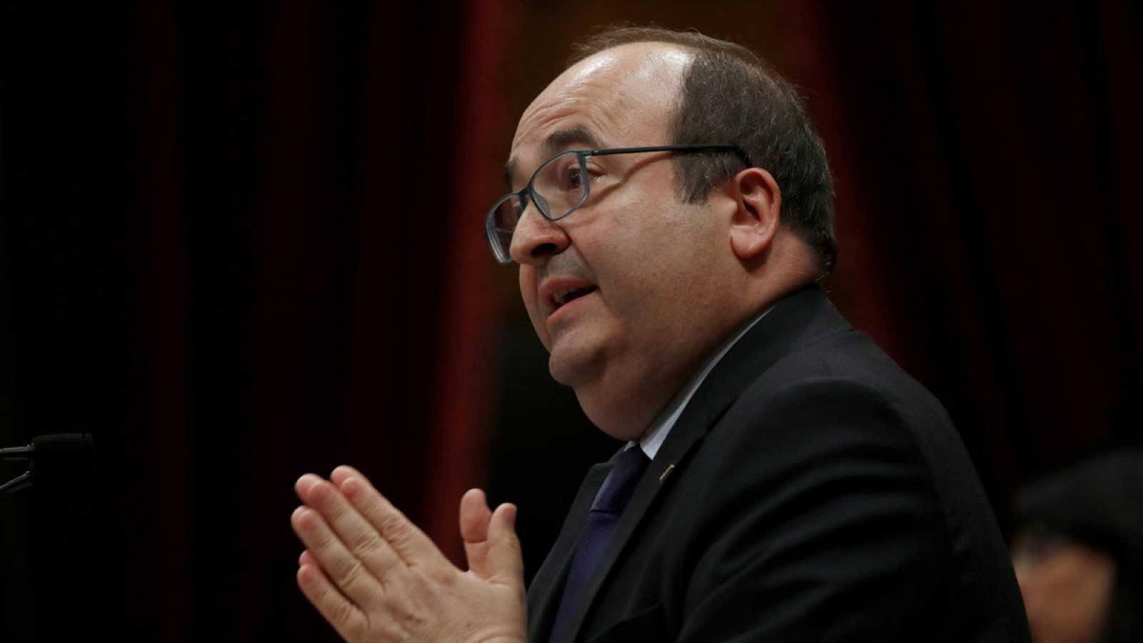 """ERC y JxCat confirman su veto a Iceta y él lo califica de """"aberración democrática"""""""