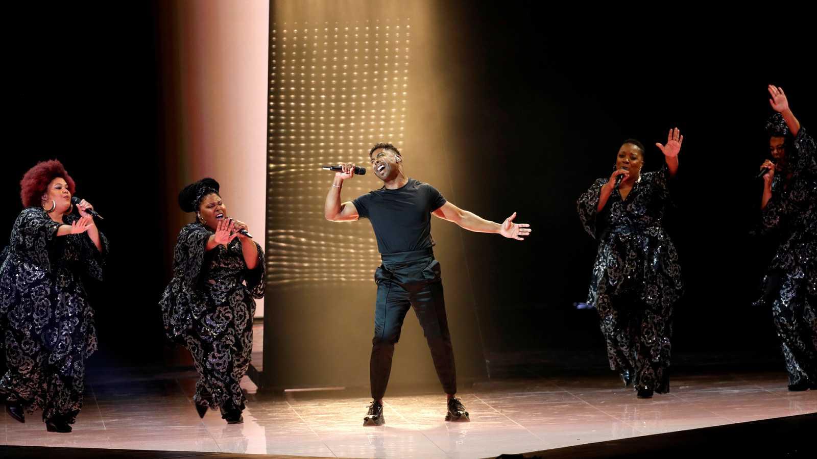 Eurovisión 2019 - Minuto de Suecia en el ensayo general de la segunda semifinal