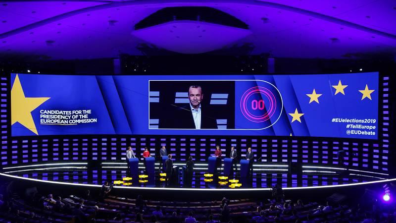 El minuto de oro de los candidatos a las elecciones europeas cierra el debate electoral