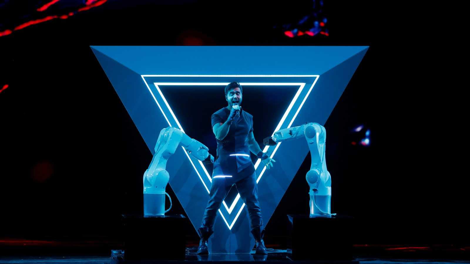 Eurovisión 2019 - Minuto de Azerbaiján en el ensayo general de la segunda semifinal