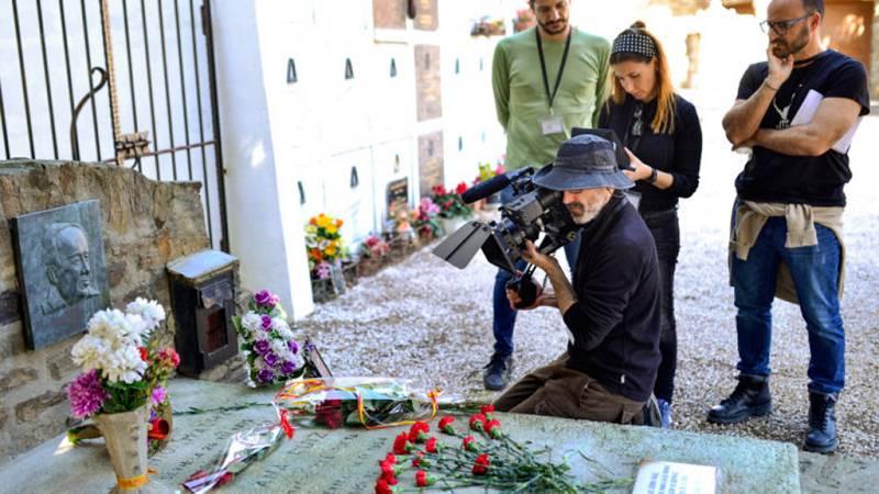 RTVE.es estrena el primer teaser del documental 'Los días azules', que homenajea Machado en el 80 aniversario de su muerte