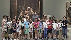 Audiencia Abierta - Visita de los Reyes al Prado