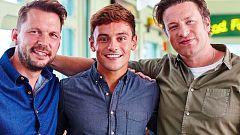 Otros documentales - El club de la lucha gastronómica de Jamie y Jimmy. Tom Daley