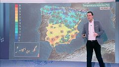 Descenso notable de las temperaturas especialmente en el interior peninsular