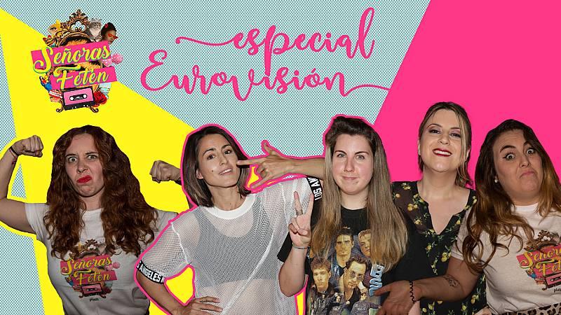 Señoras Fetén - Mira el programa: 'Especial Eurovisión' con Barei, Percebes y Grelos e Irene Mahía