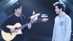 """Fantasía en Tel Aviv - Miki y Alfred cantan """"La Venda"""" en acústico"""