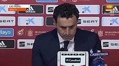 Molina anuncia que Luis Enrique no estará con la selección en la próxima concentración