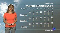 El Tiempo en Extremadura - 17/05/19