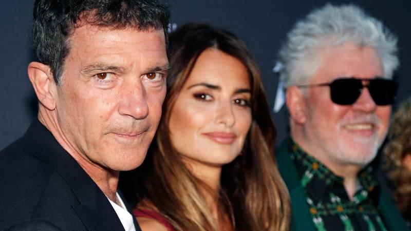 Almodóvar y los protagonistas de 'Dolor y gloria' presentan la película en Cannes