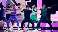 """Eurovisión 2019 - Dos minutos de Miki y """"La venda"""" en el ensayo general de la final"""