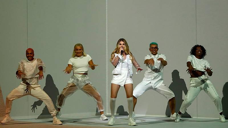 """Eurovisión 2019 - Malta: Michela Pace canta """"Chameleon"""" en la final"""