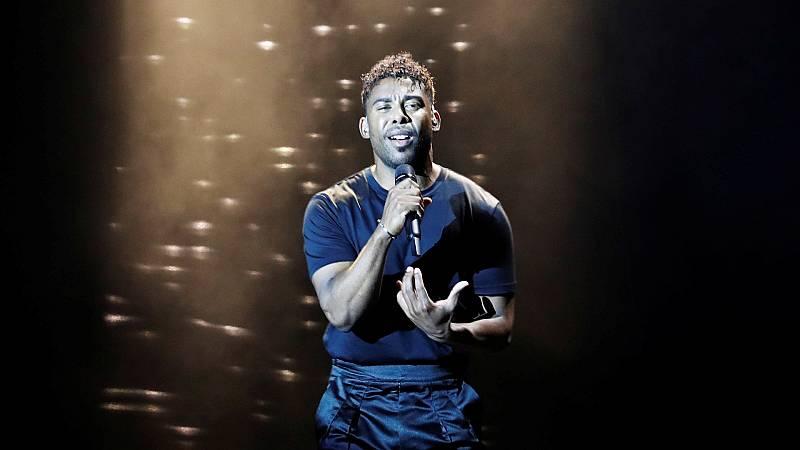 """Eurovisión 2019 - Suecia: John Lundvik canta """"Too late for love"""" en la final"""