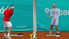 Tenis - Senior Master Cup 2019 2º partido: David Ferrer - Feliciano López