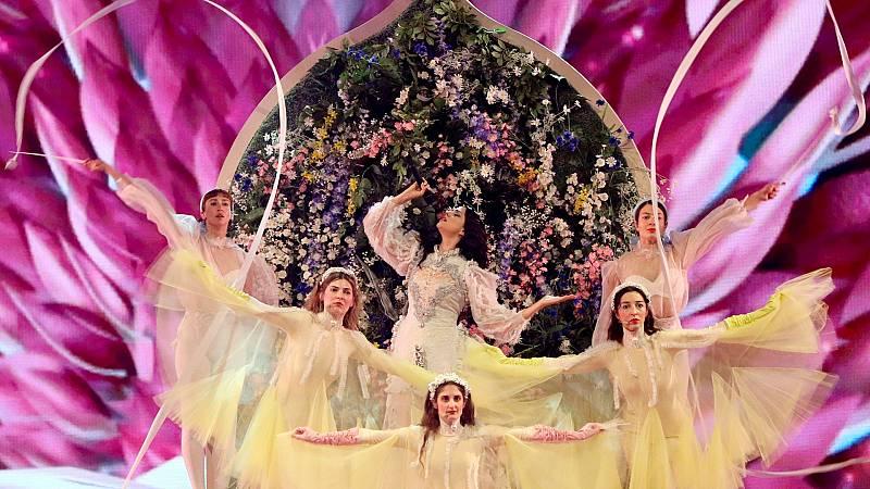 "Eurovisión 2019 - Grecia: Katerine Duska canta ""Better love"" en la final"
