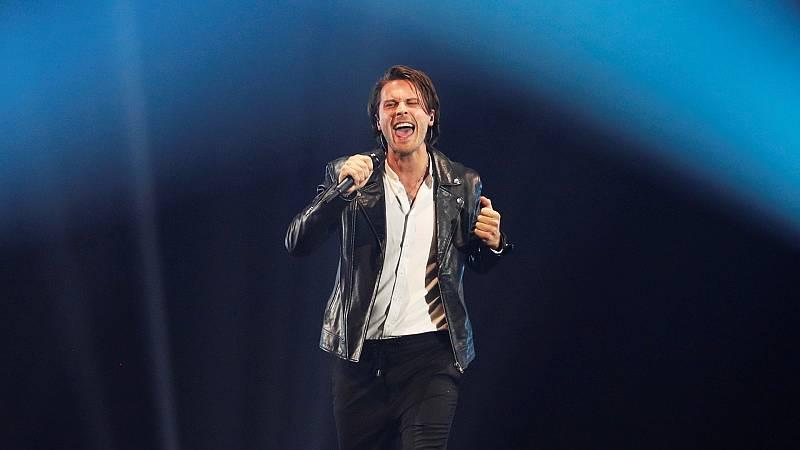 """Eurovisión 2019 - Estonia: Victor Crone canta """"Storm"""" en la final"""