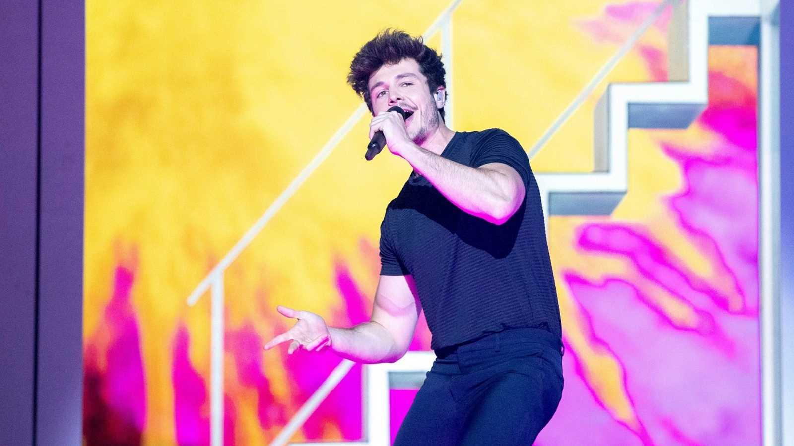 """Eurovisión 2019 - España: Miki canta """"La venda"""" en la final"""