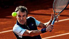 Tenis - Senior Master Cup 2019 1º partido: Francisco Clavet - Mats Wilander