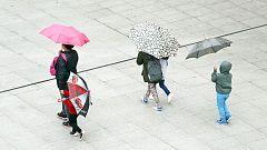 La lluvia se limita al norte peninsular y se recuperan los termómetros