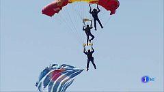 El festival aéreo más espectacular de los que organiza el Ejército