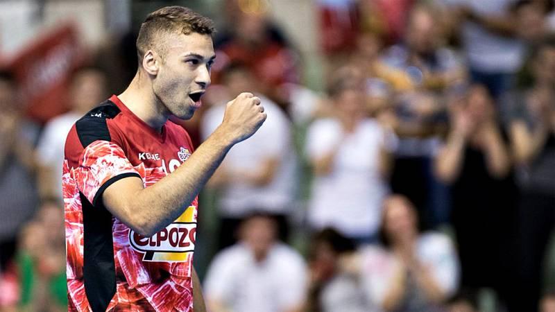 ElPozo Murcia se convierte en semifinalista de la Liga Nacional de Fútbol Sala tras vencer 4-3 a un Aspil Vidal que llegó a ir 4-1 abajo a falta de un minuto.