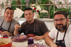 """Carlos Maldonado visita """"Hacer de comer"""""""
