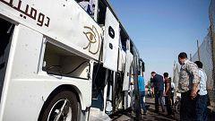Al menos 17 heridos en un atentado contra un autobús de turistas en Egipto