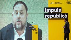 Los presos independentistas recogen sus actas parlamentarias