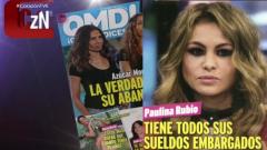 Corazón - Paulina Rubio podría tener su cuenta embargada