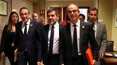 Las nuevas Mesas de las Cortes decidirán sobre la suspensión de los parlamentarios presos