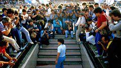 Alain Delon y Maradona protagonistas del Festival de Cannes