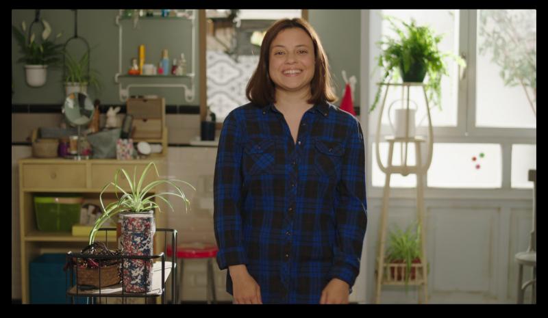 Bany compartit - Greta, protagonitzada per Paula del Rio
