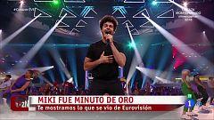 Corazón - Miki, recibido entre aplausos tras su regreso de Eurovisión 2019