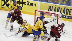 Hockey sobre hielo - Campeonato del Mundo Masculino 2019: Suecia-Letonia