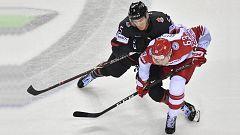 Hockey sobre hielo - Campeonato del Mundo Masculino 2019: Canadá-Dinamarca