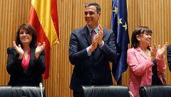 """Sánchez destaca que Batet y Cruz son """"catalanes al servicio de España"""""""