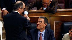 Sánchez vota a Batet como presidenta del Congreso
