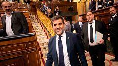 La Mesa del Congreso abordará la suspensión de los diputados independentistas presos