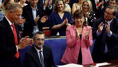 Los socialistas copan cuatro de los siete asientos de la Mesa del Senado que preside Manuel Cruz