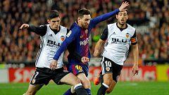 Así ha sido el camino de Barça y Valencia a la final de Copa