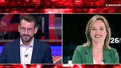 "Pilar Alegria(PSOE): ""No pongo cordones sanitarios a ningún partido, salvo a Vox"""