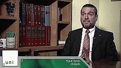 UNED - Derecho en primera persona. Miguel García Ramos - 24/05/19